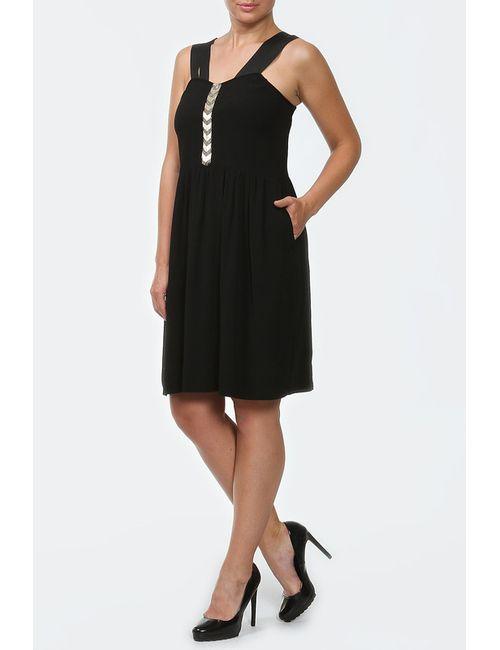 Sandro | Женское Чёрное Платье