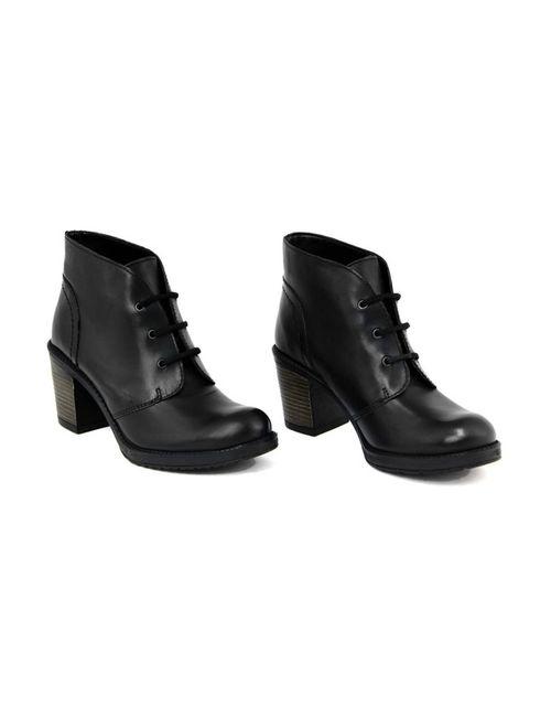 GUSTO | Женские Чёрные Ботинки
