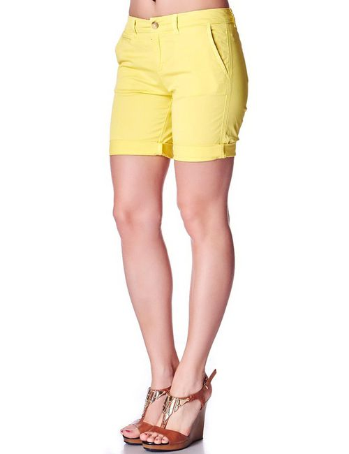 Tommy Hilfiger | Женские Жёлтые Бермуды