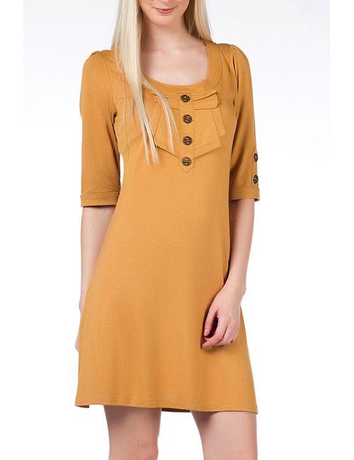 Duse   Женское Жёлтое Платье