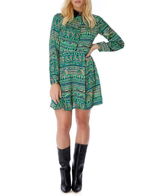 Iska | Женское Зелёное Платье