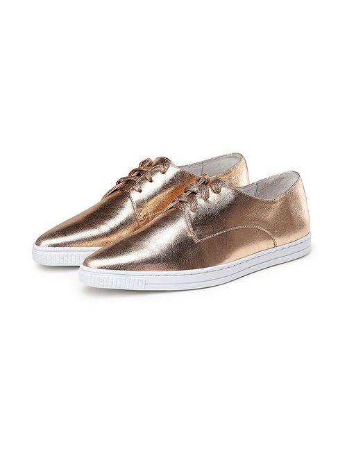 O.E | Женские Золотые Туфли