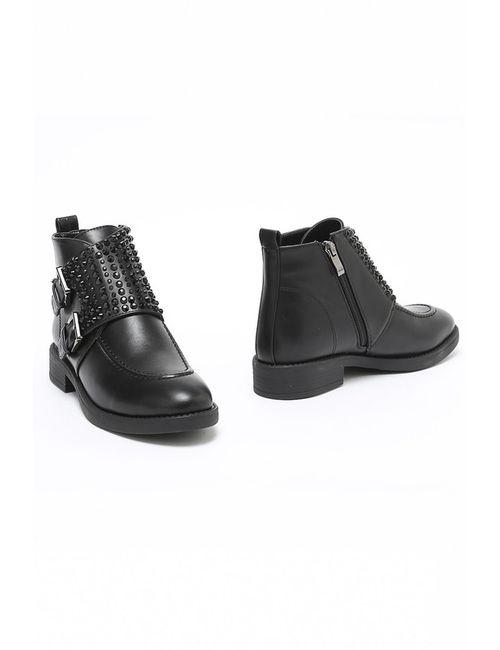 DONNA BALIZZA | Женские Чёрные Ботинки