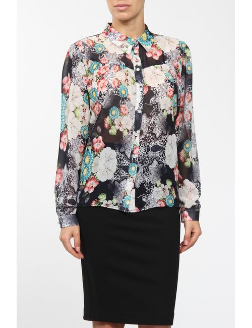 E.LEVY | Женская Многоцветная Блузка