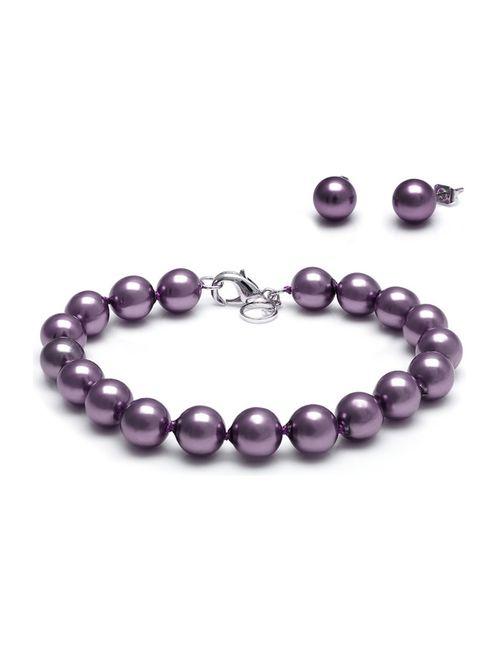 Kyoto pearl | Женский Фиолетовый Комплект
