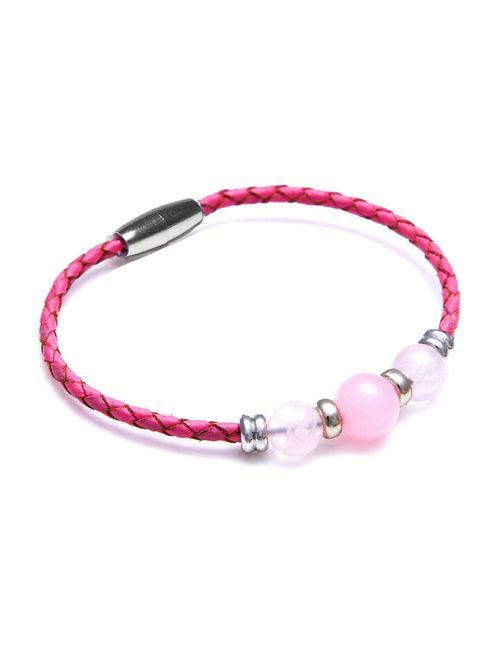 Kyoto pearl | Женский Розовый Браслет