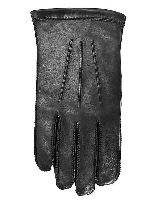 Isotoner | Мужские Чёрные Перчатки Smartouch