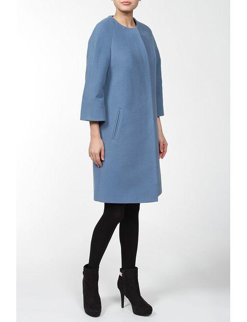 Амулет   Женское Голубое Пальто