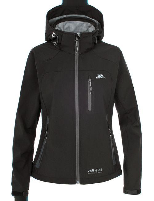 Trespass   Женская Чёрная Куртка