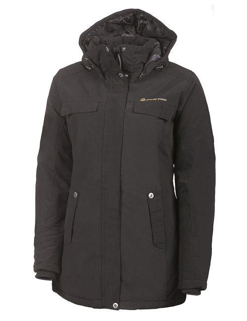 AlpinePRO   Женское Черный Пальто