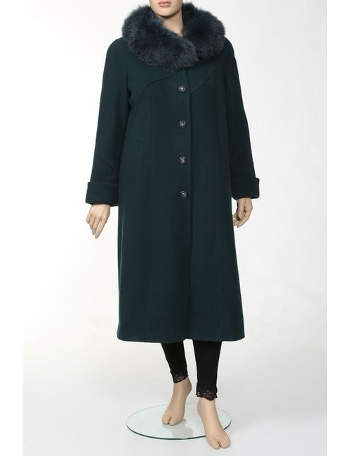 Elvi | Женское Зелёное Пальто