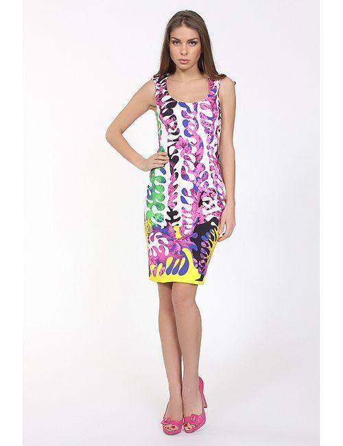 Versace | Женское Многоцветное Платье Джерси