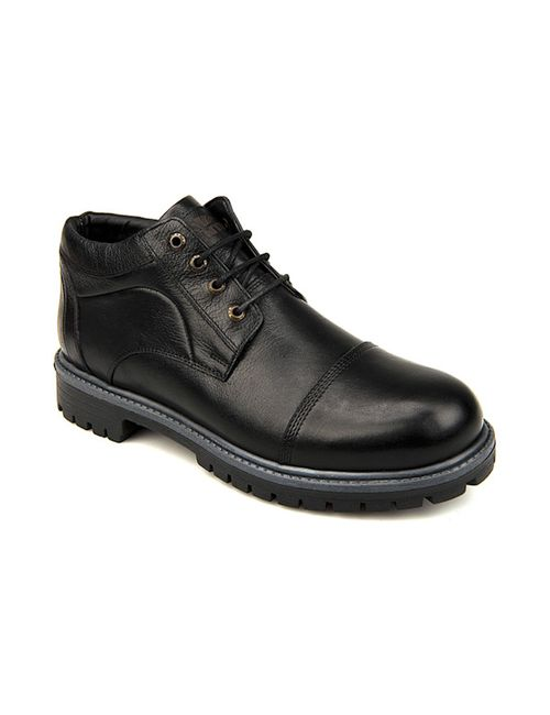 Lento | Мужские Чёрные Ботинки