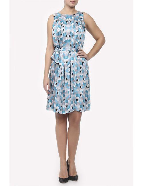 L.K. Bennett London   Женское Голубой Платье С Поясом