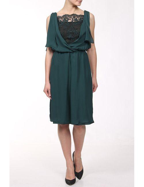 Bgn | Женское Зелёное Платье