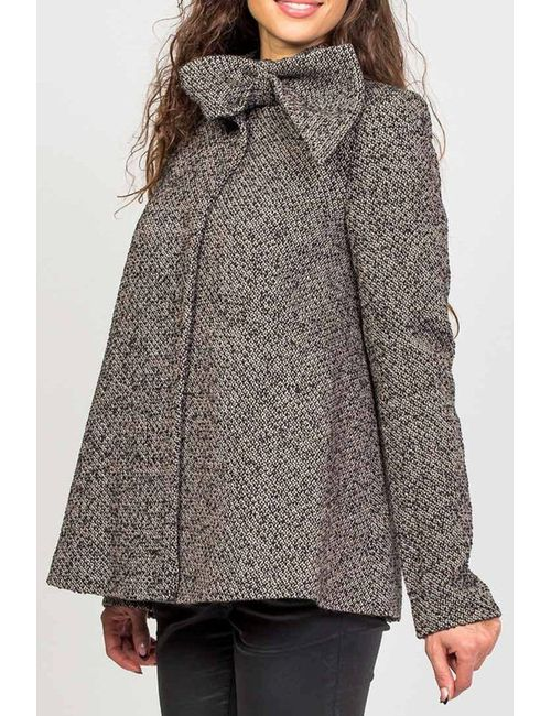 Stella Di Mare | Женское Серое Пальто