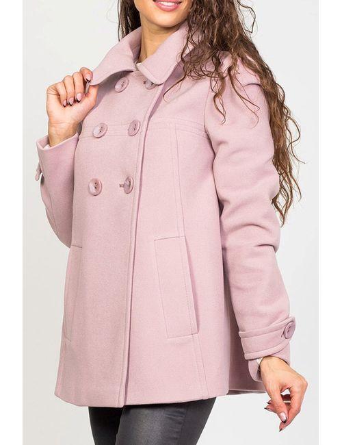 Stella Di Mare   Женское Розовое Пальто