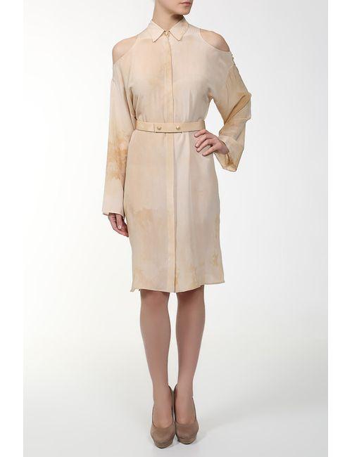 Versace | Женское Многоцветное Платье С Поясом