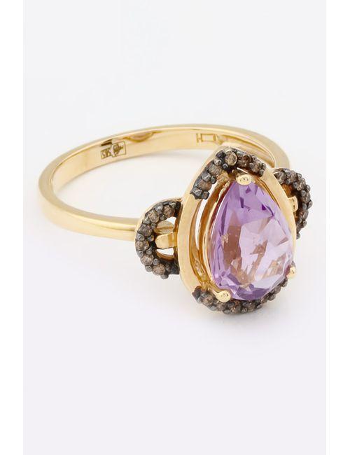 Magic Diamonds | Женское Жёлтое Кольцо