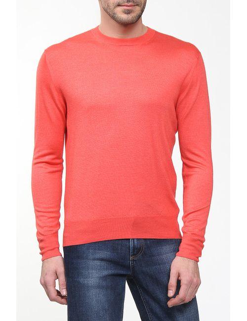 Cruciani | Мужской Красный Пуловер Вязаный