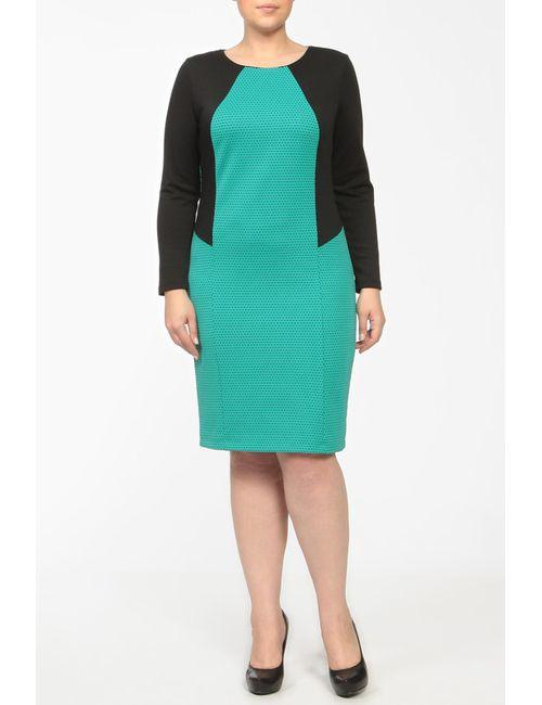 Milana Style | Женское Зелёное Платье