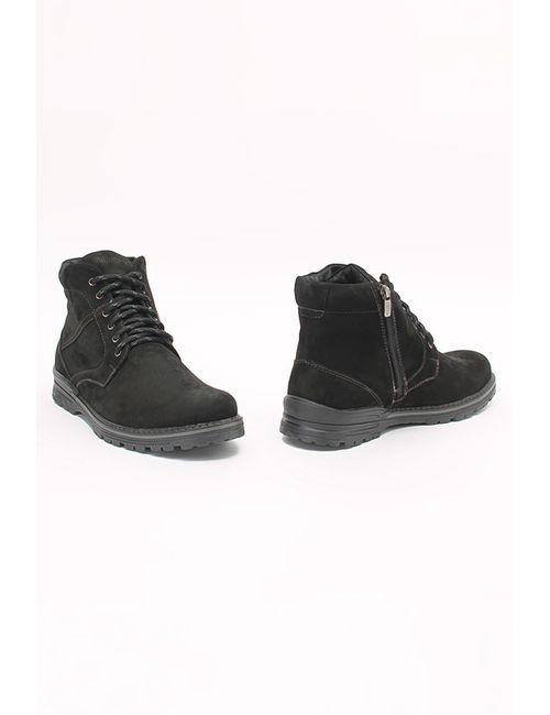 SHOIBERG | Мужские Чёрные Ботинки
