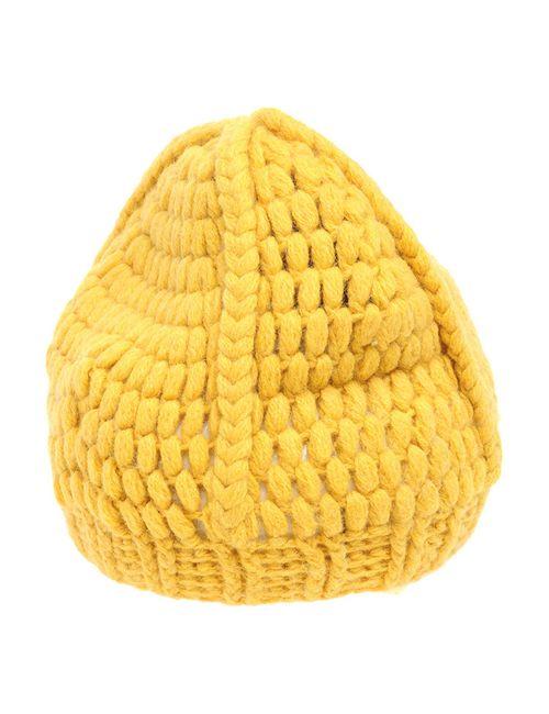 2 Picche Recycled | Женская Жёлтая Шапка