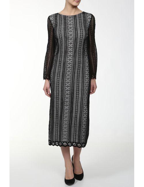 MSGM | Женское Чёрное Платье