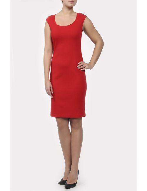 St. John | Женское Красное Платье Вязаное