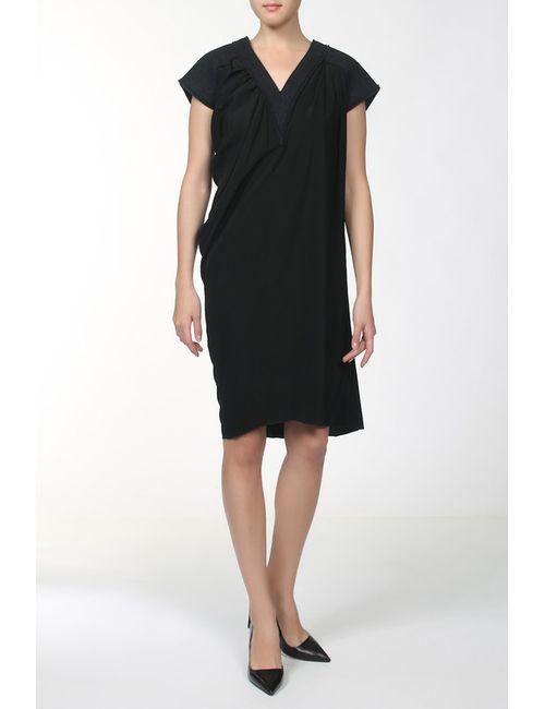 Bottega Veneta | Женское Чёрное Платье