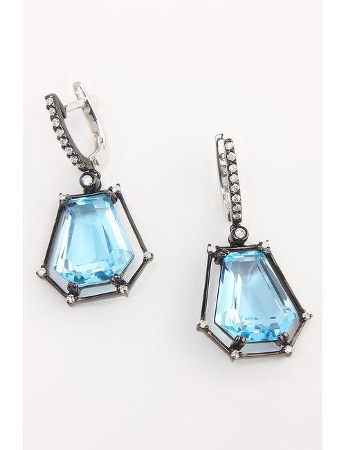 Magic Diamonds | Женские Чёрные Серьги