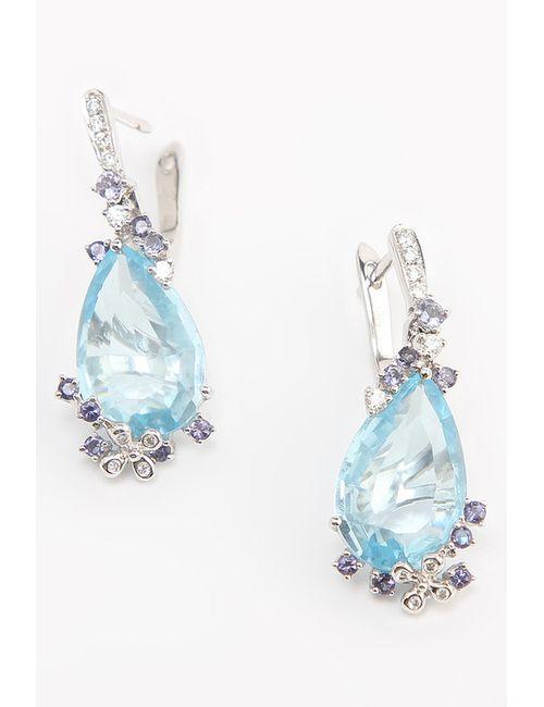 Magic Diamonds   Женские Белые Серьги