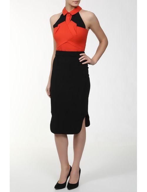 Roland Mouret | Женское Оранжевое Платье