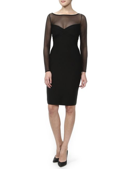 Herve' L. Leroux | Женское Чёрное Платье
