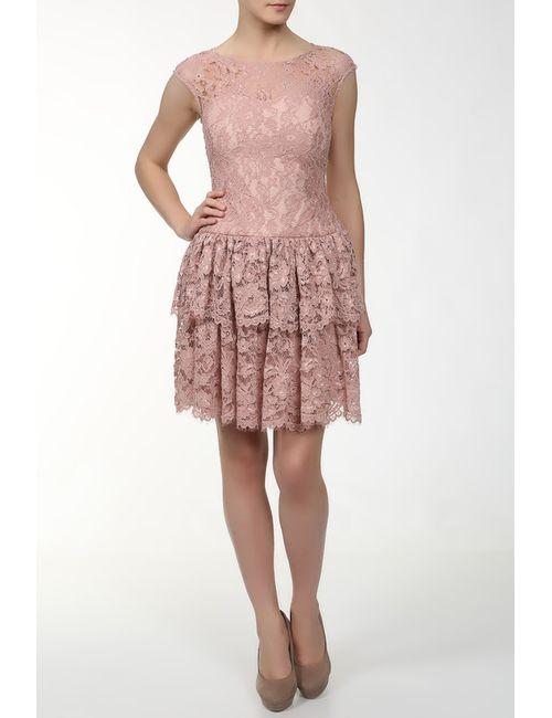 Marchesa Notte | Женское Розовое Платье