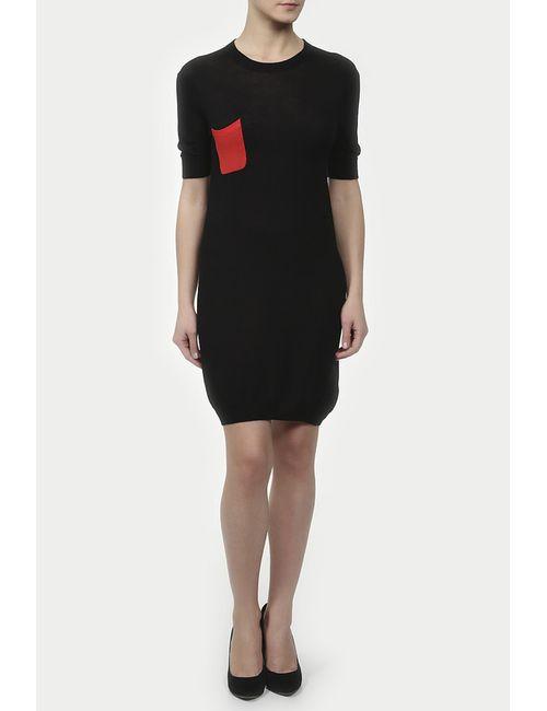 Unee+O | Женское Чёрное Платье Вязаное