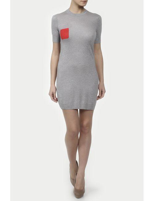 Unee+O | Женское Серое Платье Вязаное