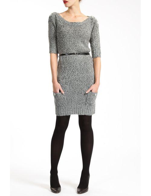 Lea Fashion | Женское Серое Платье