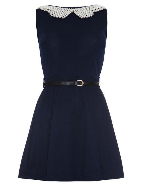 Iska | Женское Синее Платье