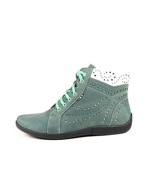 Marko | Женские Зелёные Ботинки