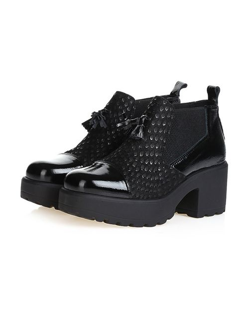 Bouton   Женские Чёрные Ботинки