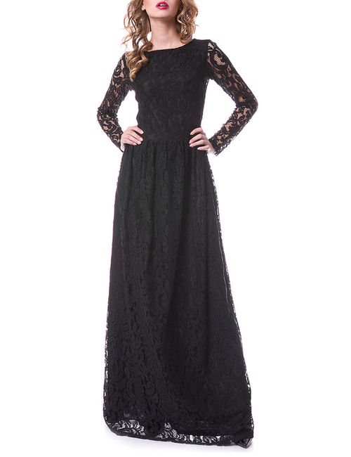 OKS | Женское Чёрное Платье