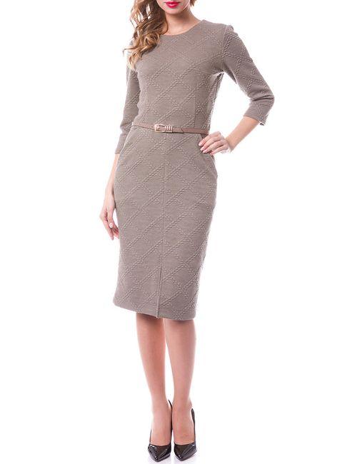 OKS | Женское Коричневое Платье