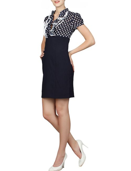 Mankato | Женское Чёрное Платье