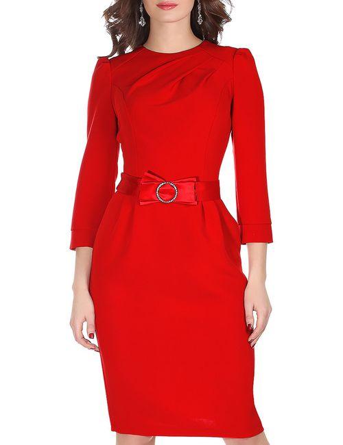 Olivegrey | Женское Красное Платье