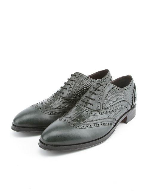 Bouton | Мужские Зелёные Туфли