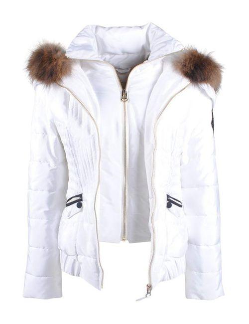Nickelson   Женская Белая Куртка