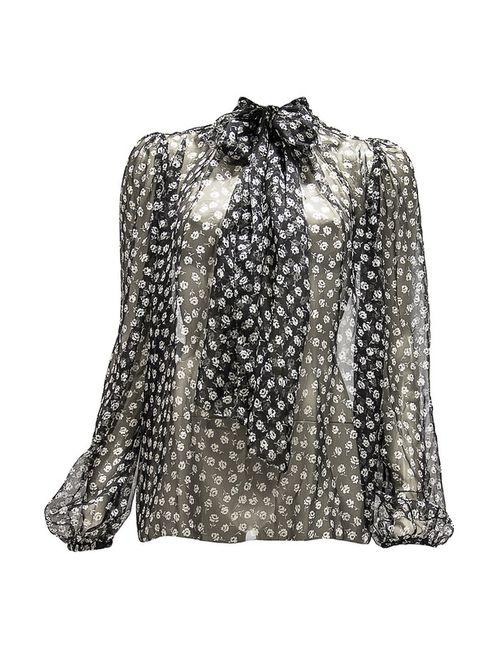 Dolce & Gabbana | Женская Чёрная Блузка