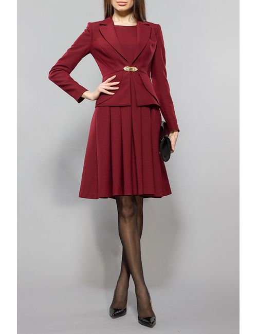 BGL | Женский Красный Комплект Жакет И Платье