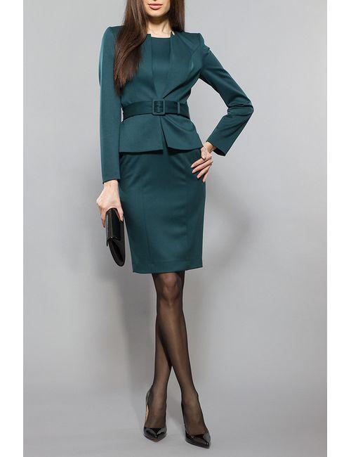 BGL | Женский Зелёный Комплект Жакет И Платье